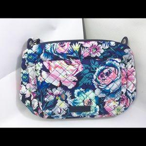 Vera Bradley Carson Mini SHLDR Bag. Garden Grove
